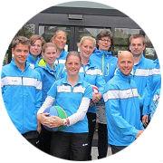 De buurtsportcoaches van de gemeente Súdwest-Fryslân.